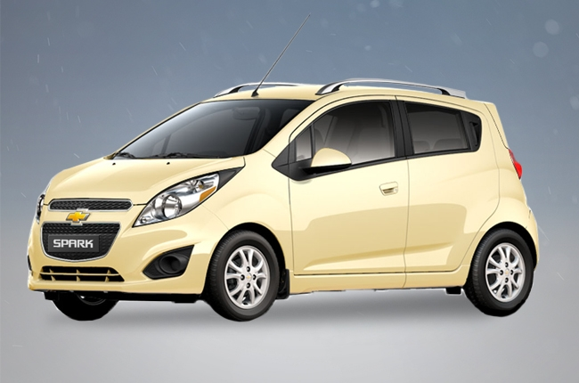Getting to know the Chevrolet Spark 1.2L LT