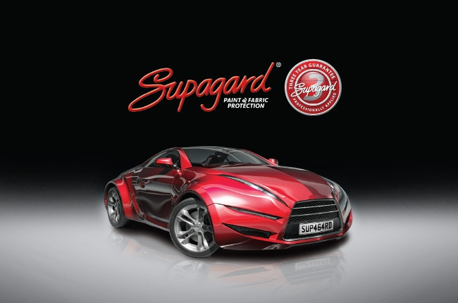 Supagard for professionally applied paint and fabric protection