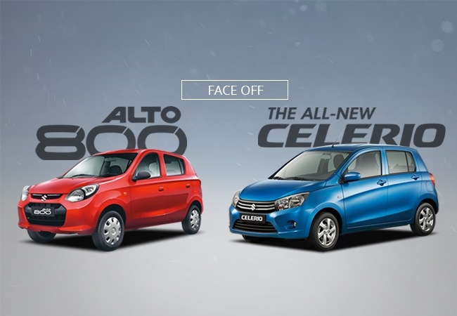 Making the big choice: the Suzuki Alto 800 or the Suzuki Celerio