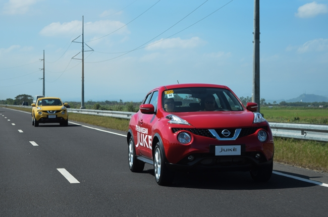 The new Nissan Juke takes us on a fun drive up North