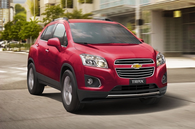 The beauty of the Chevrolet Trax 1.4 LT AT subcompact crossover