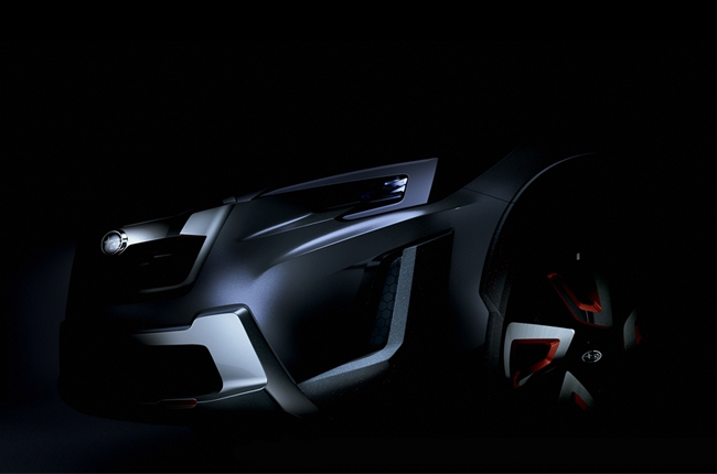 Subaru drops teaser photo of the XV Concept