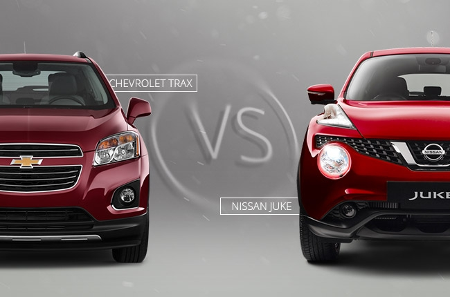 Car Comparo: Which is better, Nissan Juke or Chevrolet Trax?