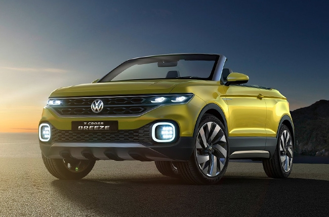 Volkswagen unveils the T-Cross Breeze small SUV concept