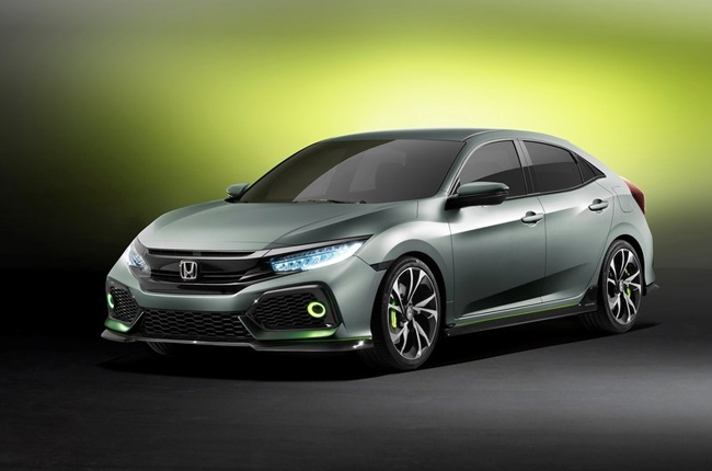 Honda debuts all-new Civic Hatchback prototype in Geneva