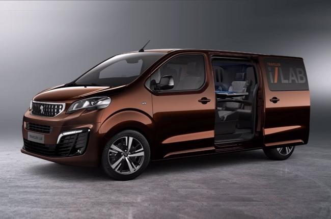 Peugeot unveils the Traveller i-Lab mobile business lounge concept