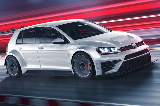 Volkswagen unveils the Golf GTI TCR