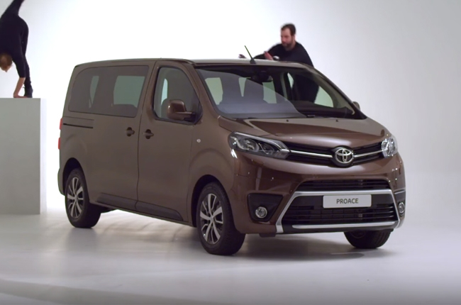 WATCH: Toyota highlights all-new Toyota Proace Verso