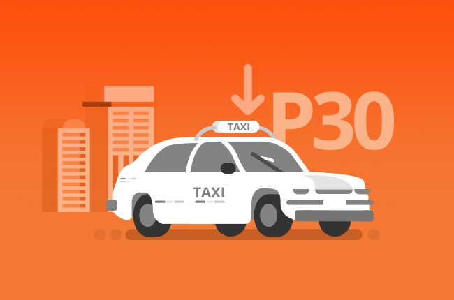 LTFRB approves new P30 taxi flag down rate