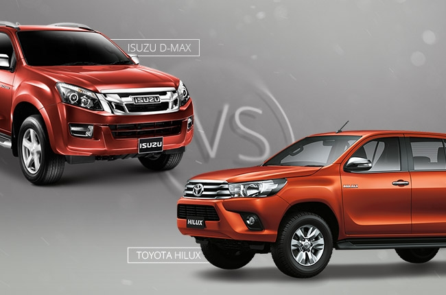 Car Comparo: Which is tougher, Toyota Hilux or Isuzu D-MAX