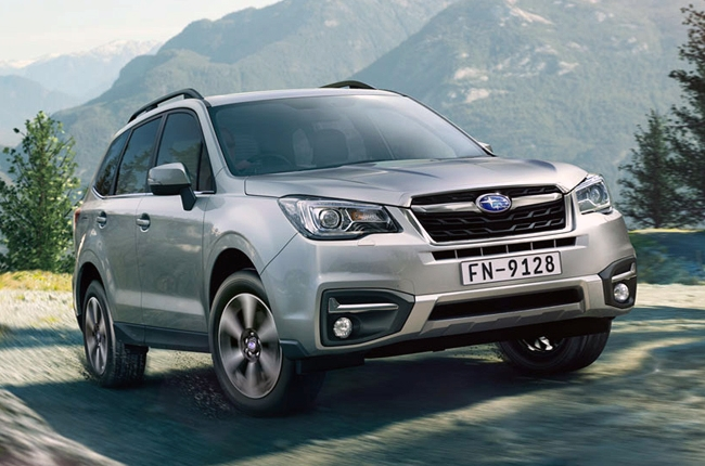 Subaru debuts refreshed Forester at the 37th Bangkok Motor Show