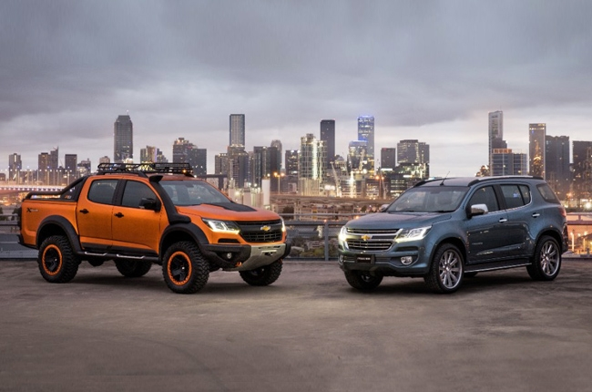 New and pimped up Chevrolet Trailblazer and Colorado debut in Thailand