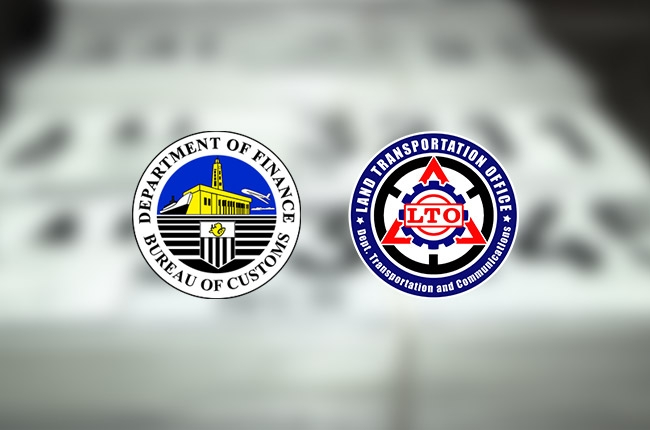 Bureau of Customs eyeing to turnover abandoned license plates to LTO