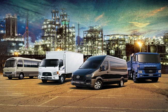 MIAS 2016: Hyundai adds commercial trucks and buses to line-up