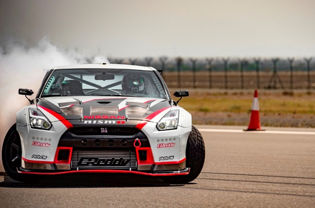 Nissan GT-R sets new Guinness World Record for fastest drift