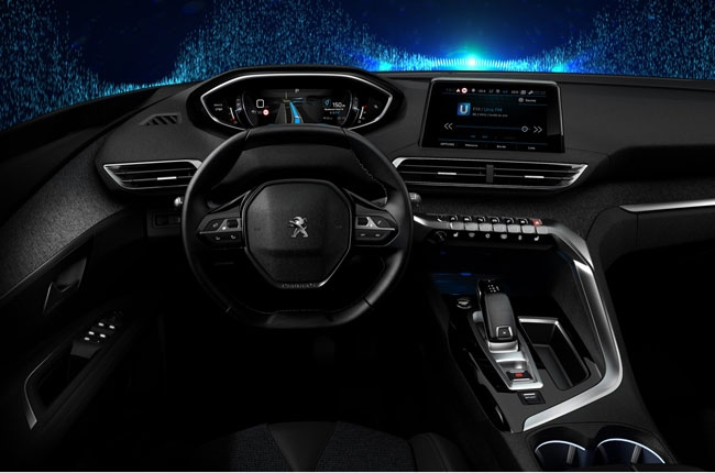 Peugeot reveals next-generation i-Cockpit interior layout