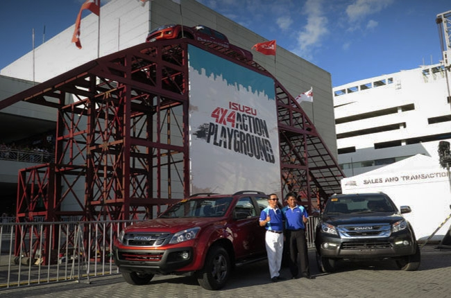 Isuzu Ph previews new variant of the mu-X, D-MAX, and Crosswind