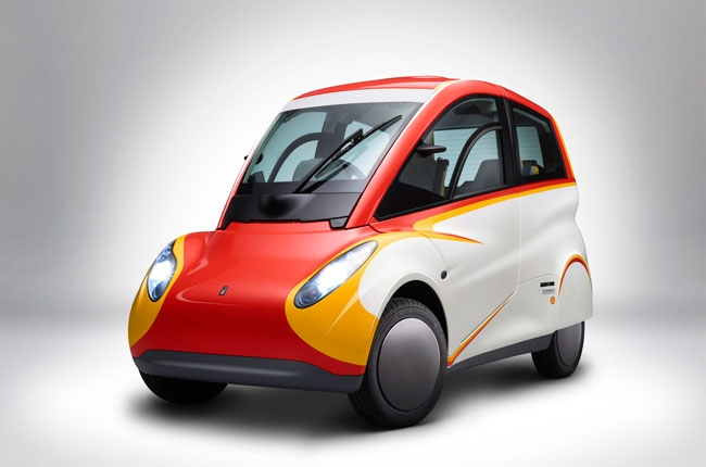 Shell reveals a concept car that can do 38 km/l