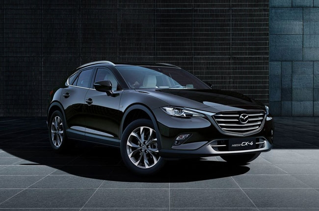 Mazda CX-4 officially revealed as a China-only model