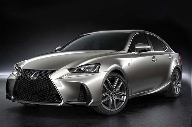 Lexus IS facelift revealed at 2016 Beijing Auto Show