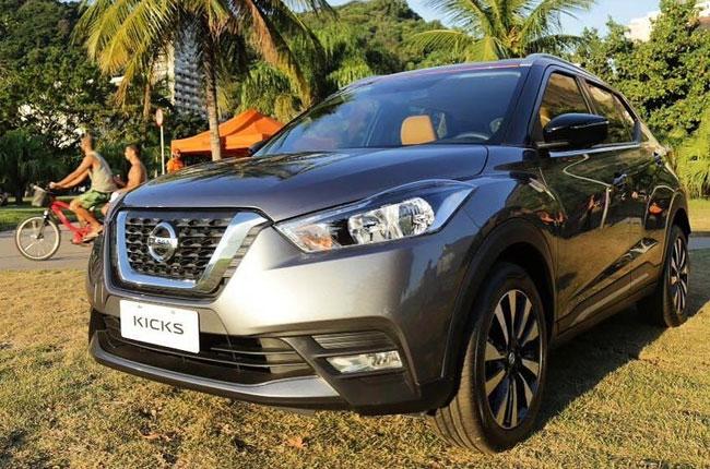 Nissan Brazil debuts Kicks compact crossover