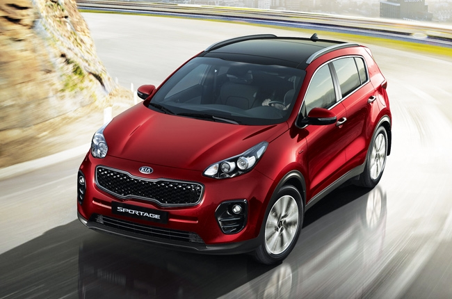 The all-new Kia Sportage receives IIHS' Top Safety Pick+