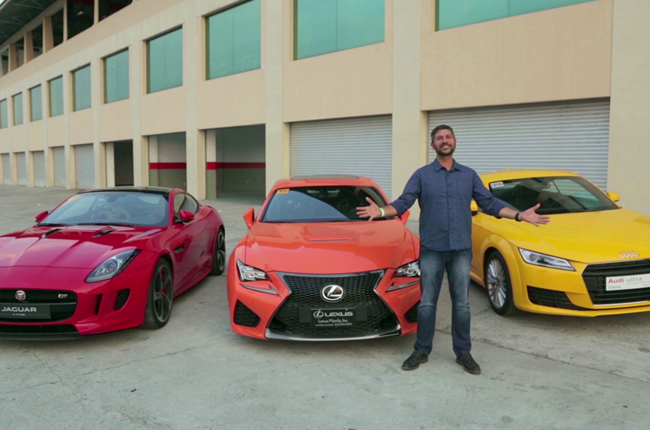 James Deakin takes out three sports cars for a review