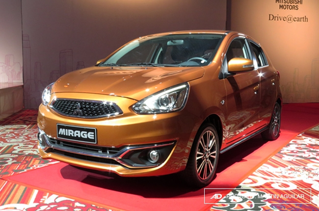Mitsubishi Ph formally launches updated 2016 Mirage