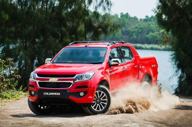 2016 Chevrolet Colorado makes ASEAN debut