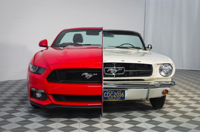 Ford highlights 50 years of Mustang innovation