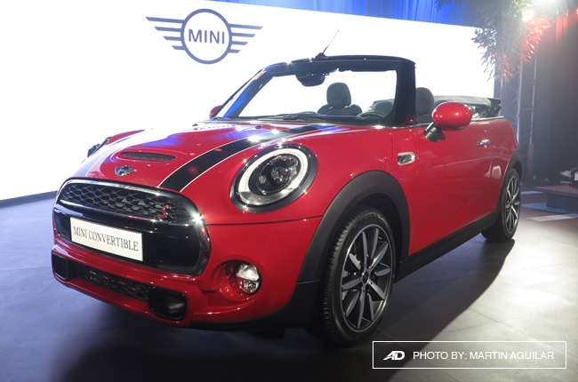 2016 MINI Convertible makes PH debut