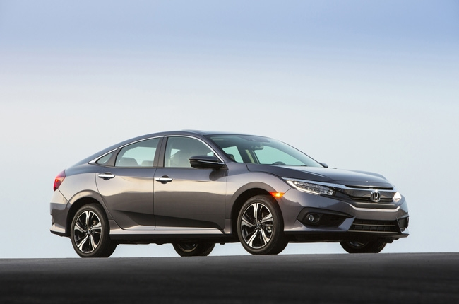 2016 Honda Civic gets 5-star safety rating from NHTSA