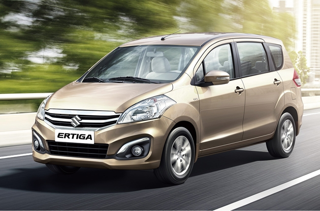 The bold and practical Suzuki Ertiga mini MPV