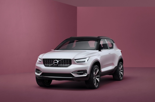 Volvo's 40 series concepts preview its small car lineup