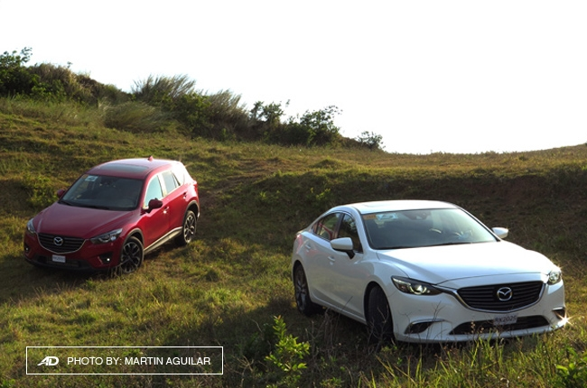 Driving the SkyActiv-D Mazda 6 and CX-5 to Anilao, Batangas