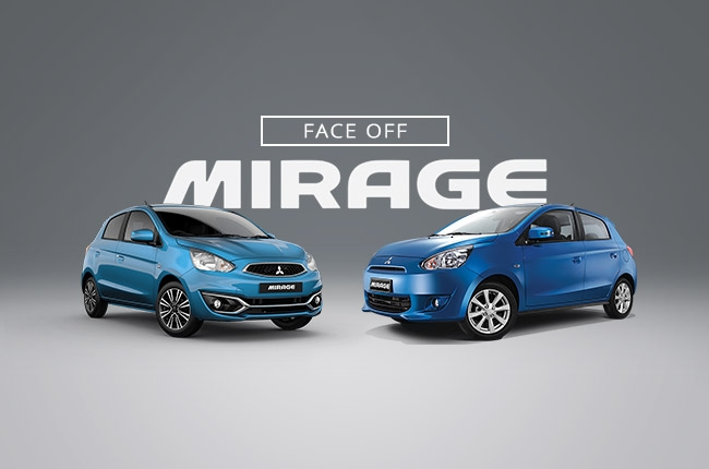 Face-off: The old vs new Mitsubishi Mirage