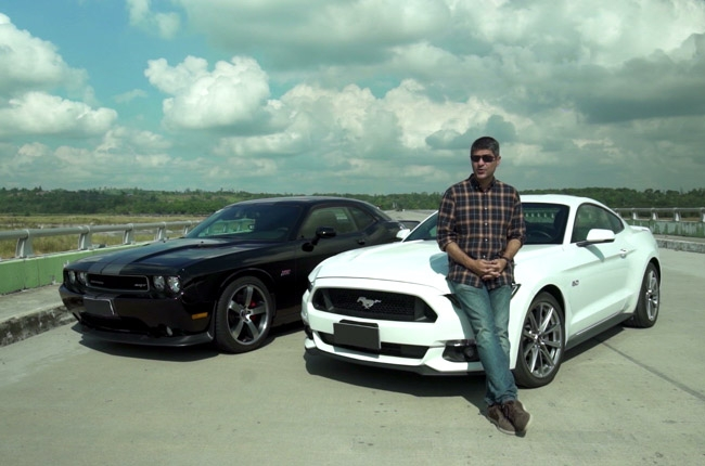 James Deakin compares the Dodge Charger and the Ford Mustang