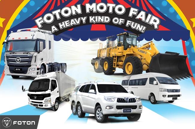 FOTON to showcase full lineup at FOTON Moto Fair