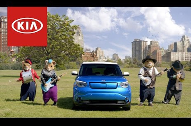 Kia's music-loving hamsters introduce the 2016 Soul in style