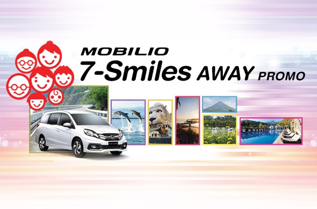 Honda PH launches Mobilio 7-Smiles Away promo