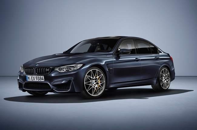 BMW celebrates 30 years of the M3 with a special edition model