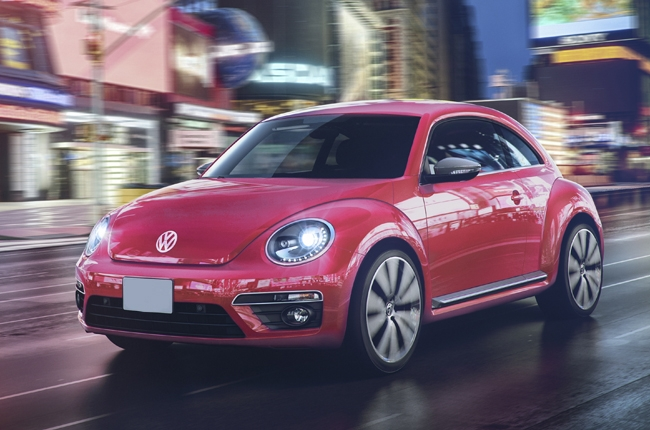 Volkswagen #PinkBeetle is the first car to be named with own hashtag