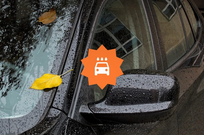 Should you wash your car after the rain?