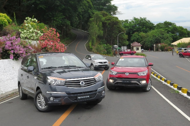 Driving SsangYong's Big 3: the Korando, Rodius, and Tivoli