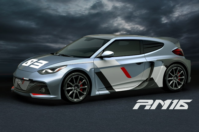 Hyundai reveals Veloster-based RM16 concept