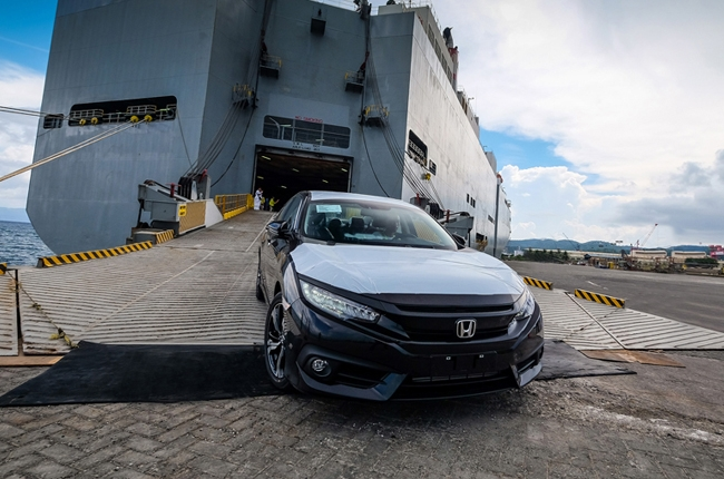 2016 Honda Civic arrives on Philippine soil