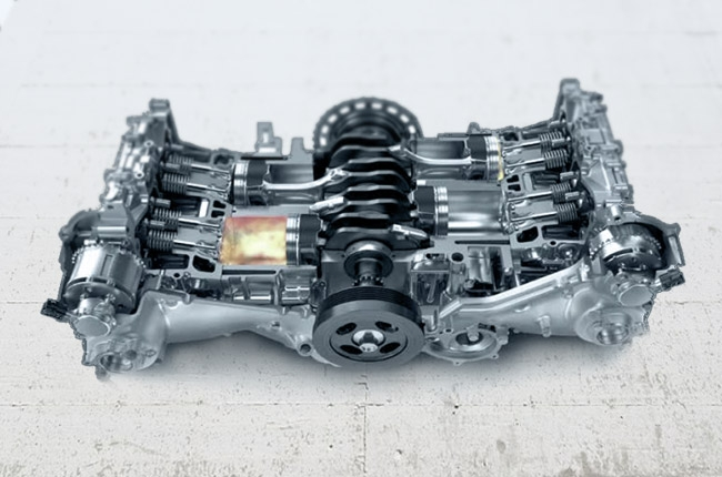 What is the Subaru Boxer engine and how does it work?