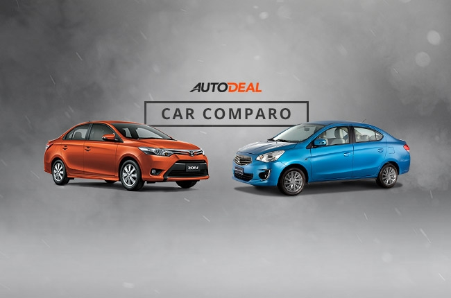 Car Comparo: Which is better, Toyota Vios or Mitsubishi Mirage G4?