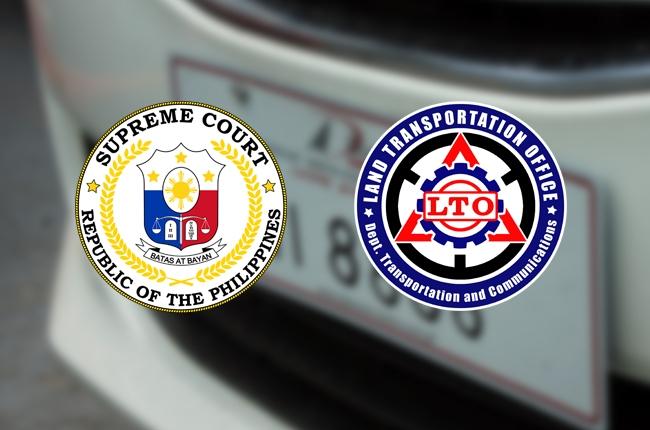Supreme Court halts release of car license plates