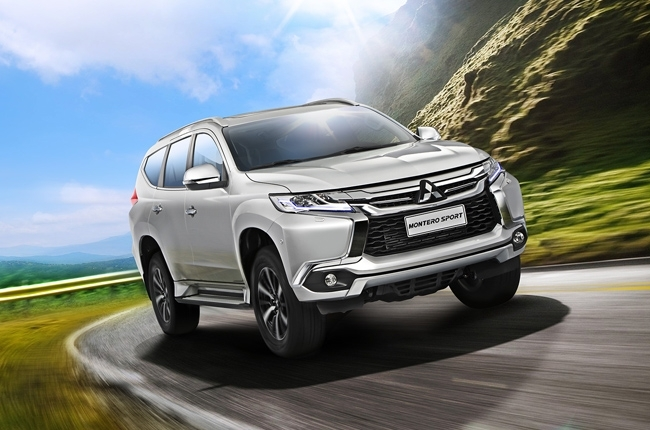 The stylish and refined 2016 Mitsubishi Montero Sport